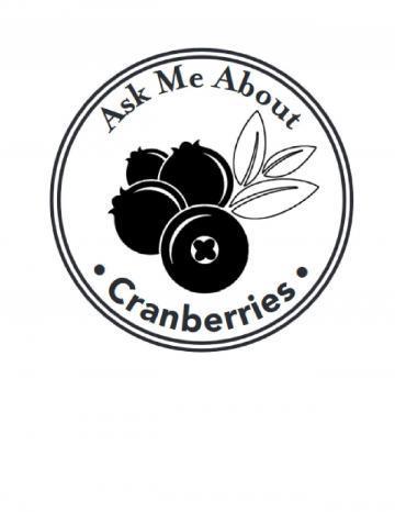 Cranberries Hand Stamp