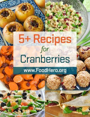 Recipes for Cranberries