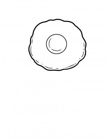Huevo Línea Negra