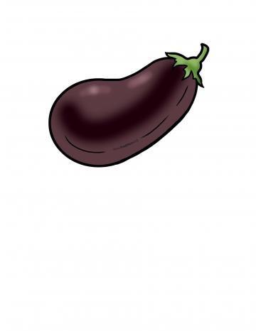 Ilustración de Berenjena