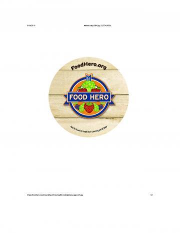 Round Sticker - English