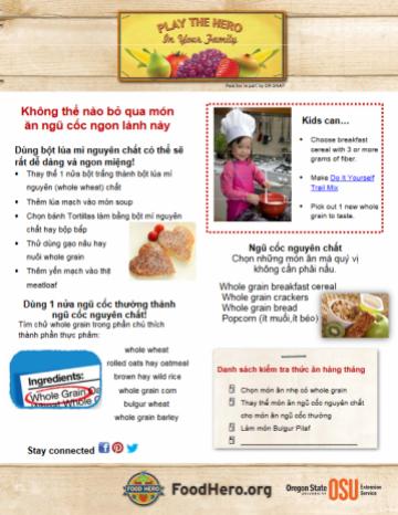 Feburary 2011 Food Hero Monthly Vietnamese