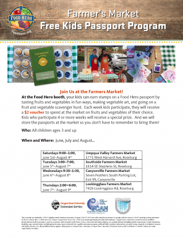Douglas County Free Kids Passport Project