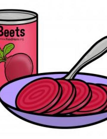 Canned Beets - English