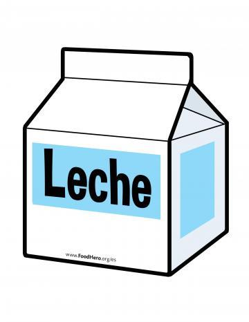 Illustración de Leche