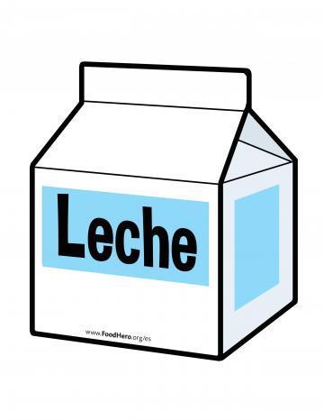 Illustración de Leche