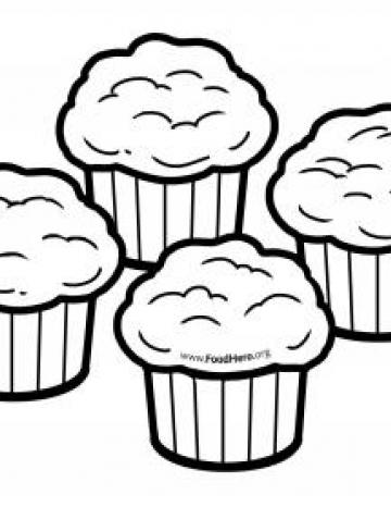 Muffins Blackline