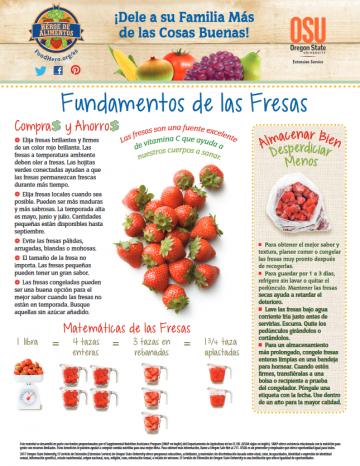 Fresas Últimos consejos Alimentos