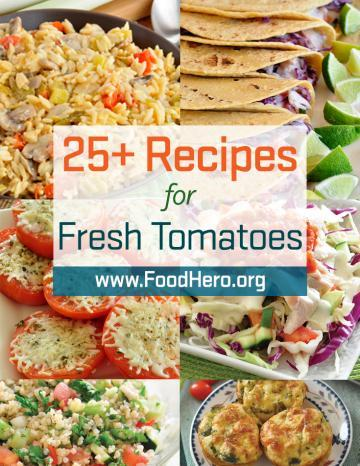 Recipes for Fresh Tomatoes