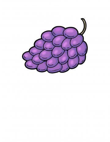 Ilustración de Uvas