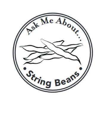 Green Bean Handstamp image