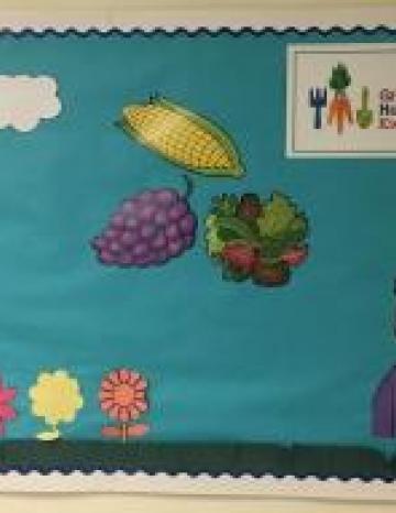 Growing Healthy Kids Bulletin Board