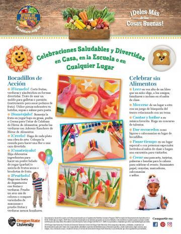 Healthy Celebrations Monthly - Spanish