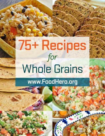 Image of Whole Grain Recipe Poster