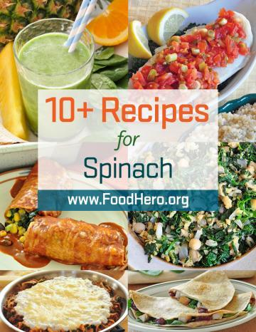 Recipes for Spinach