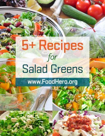 Recipes for Salad Greens