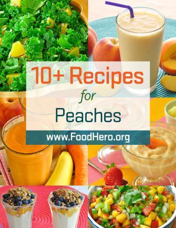 Recipes for Peaches