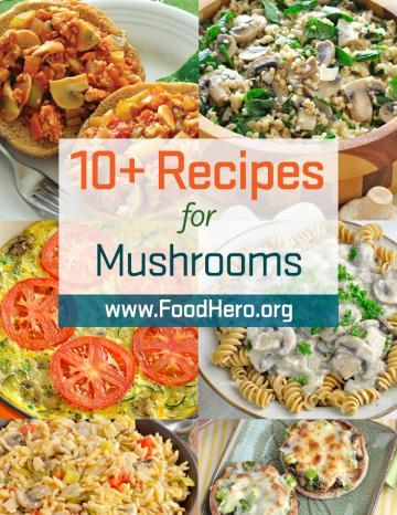 Recipes for Mushrooms
