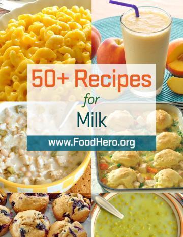 Recipes for Milk