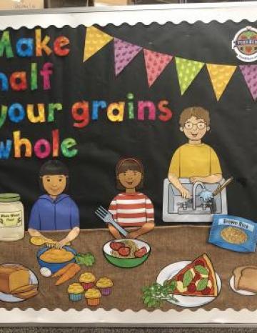 Whole Grain Bulletin Board - English