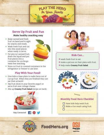 Serve up fruit and fun!