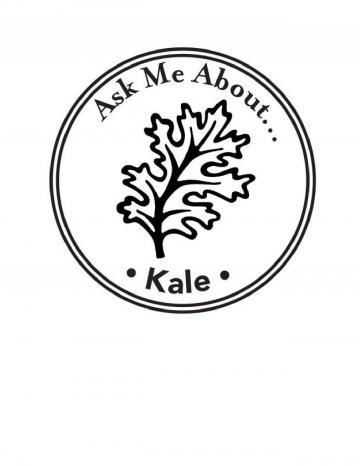 Kale Hand Stamp