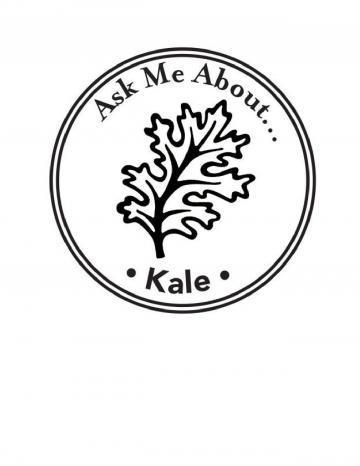 Kale Hand Stamp