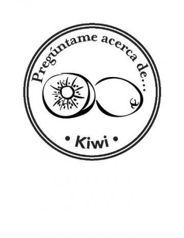 Mano Sello Imagen de Kiwi