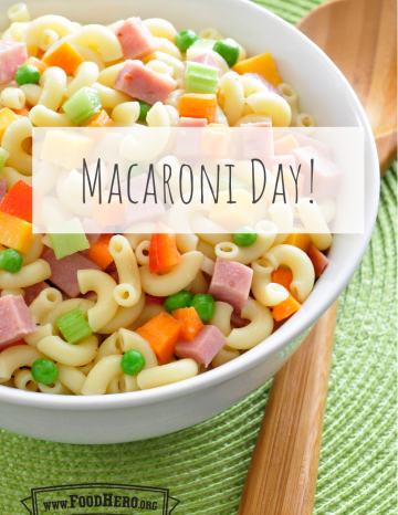 Macaroni Day July 7th