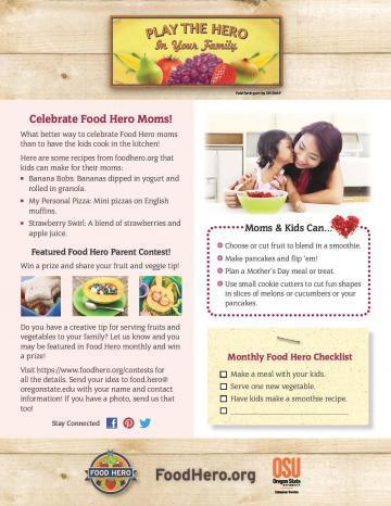 Celebrate Food Hero Moms