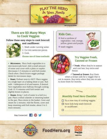 There are so many ways to cook veggies!