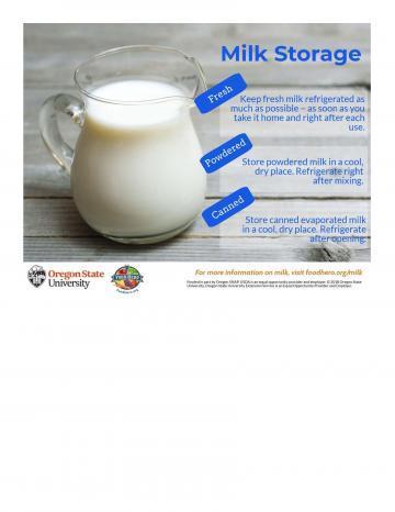 Milk Infographic