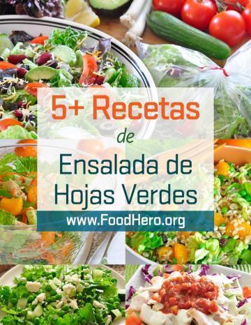Recetas de Hojas Verdes para Ensaladas