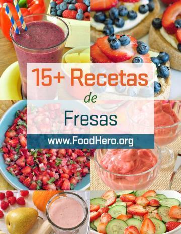 Recetas de Fresas