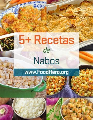 Recetas de Nabos