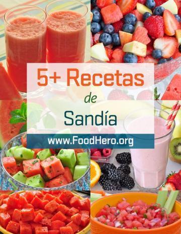 Recetas Sandía