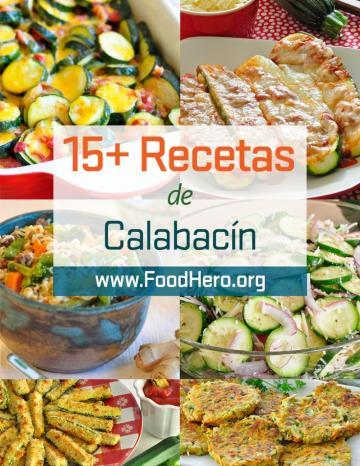 Recetas de Calabacita
