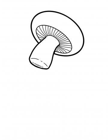 Mushroom Blackline