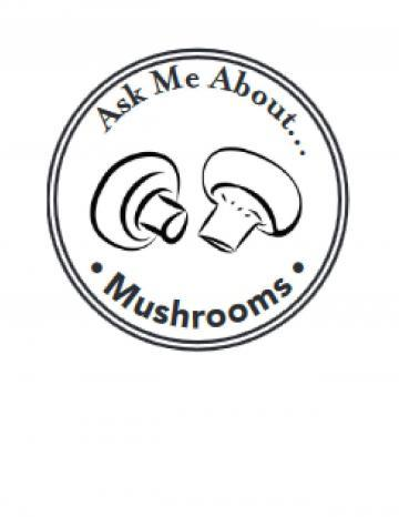 Mushrooms Hand Stamp