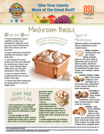 Mushrooms Monthly Magazine