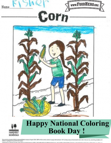 National Coloring Book Day August 2nd