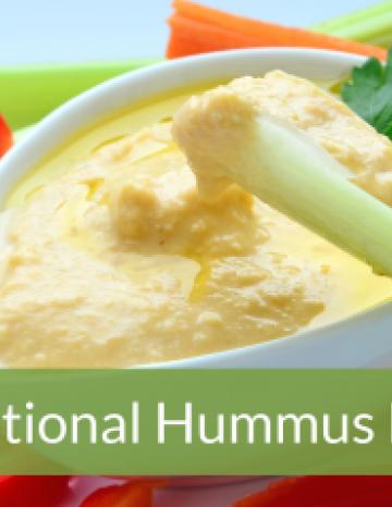 National Hummus Day May 13th