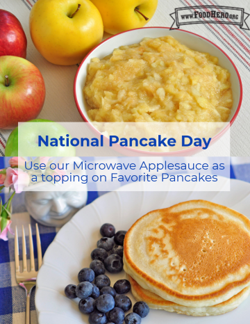 National Pancake Day September 26th