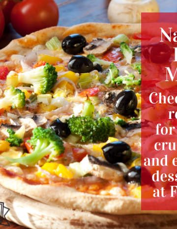 National Pizza Month October