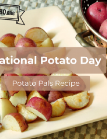National Potato Day August 19th