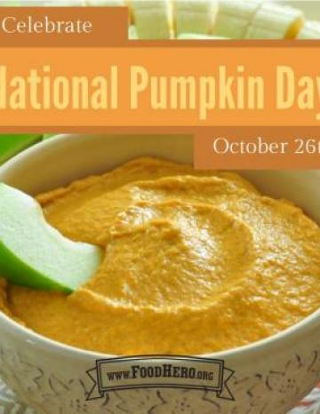 National Pumpkin Day October 26th