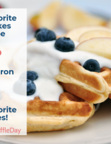 National Waffle Day August 24th