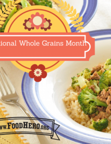 National Whole Grains Month September