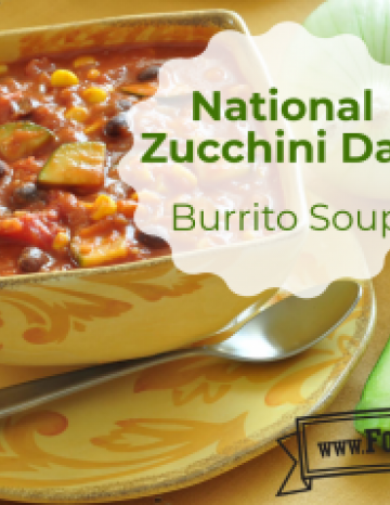 National Zucchini Day August 8th
