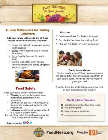 Turkey makeovers for turkey leftovers